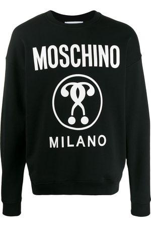 Moschino Questions logo-print sweatshirt