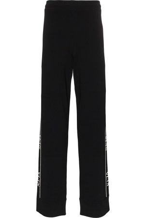 VALENTINO Men Joggers - Ticker logo-print track sweatpants