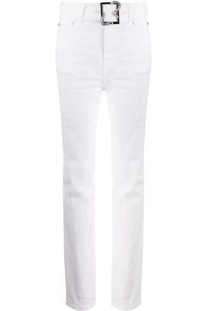 Roberto Cavalli Women Skinny Pants - Belted waist trousers