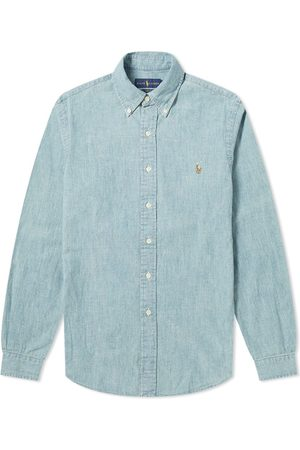 Polo Ralph Lauren Slim Fit Button Down Chambray Shirt