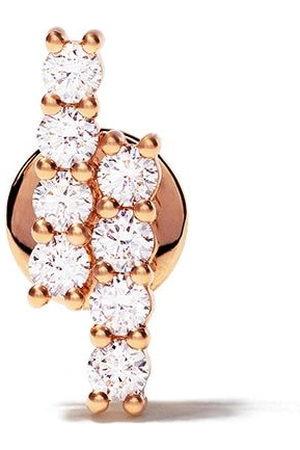 ALINKA 18kt rose RIVIERA diamond stud earring