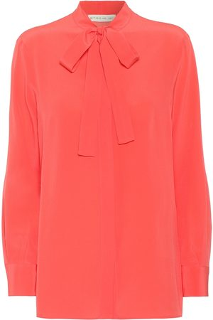 Etro Silk-crêpe blouse