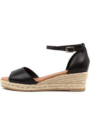 Django & Juliette Skip Dj Sandals Womens Shoes Casual Heeled Sandals