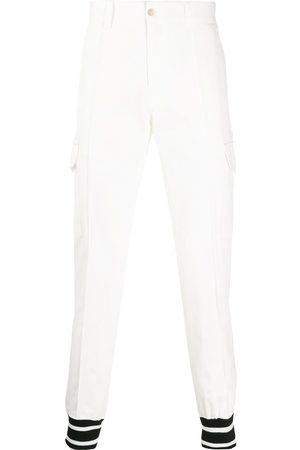 Dolce & Gabbana Men Cargo Pants - Contrast cuff cargo trousers