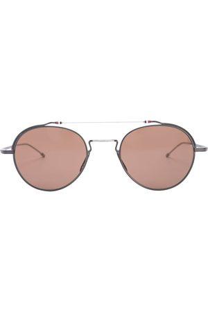 Thom Browne Sunglasses - TBS912 aviator-frame sunglasses