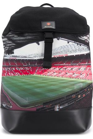Paul Smith Old Trafford-print backpack