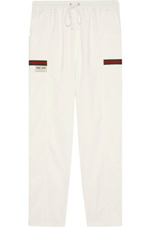 Gucci Logo patch track trousers