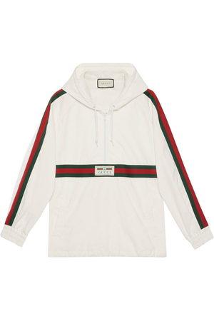 Gucci Logo label windbreaker