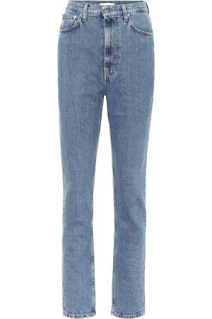 Helmut Lang High-rise slim jeans