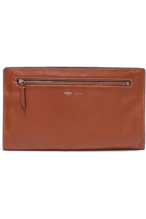 Métier Runaway I' buffalo leather envelope pouch