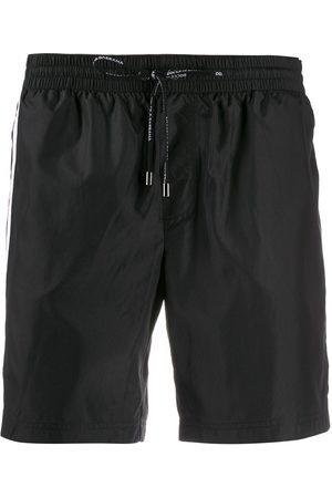 Dolce & Gabbana Side stripe swim shorts