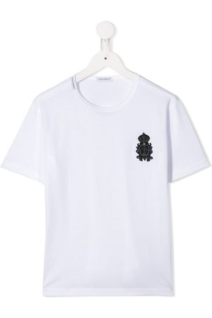 Dolce & Gabbana Heraldic DG patch T-shirt