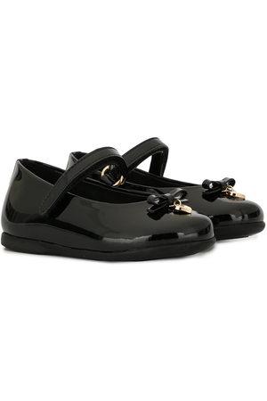Dolce & Gabbana Heart charm ballerina shoes