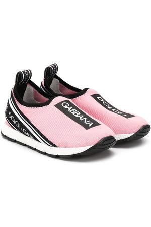 Dolce & Gabbana Sorrento logo mesh sneakers