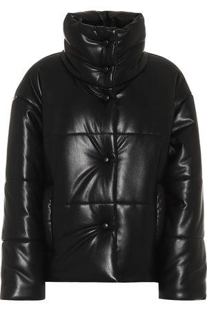 Nanushka Hide faux-leather puffer jacket