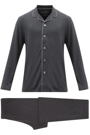 DEREK ROSE Marlowe Stretch-jersey Pyjamas - Mens