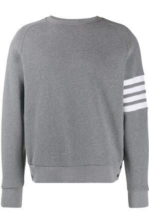 Thom Browne 4-Bar raglan-sleeve sweatshirt