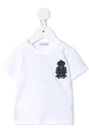 Dolce & Gabbana Short Sleeve - Heraldic patch T-shirt