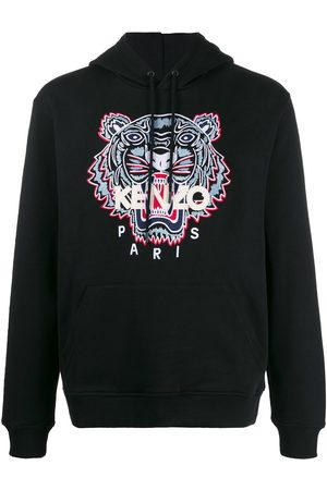 Kenzo Tiger-embroidered hooded sweatshirt