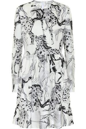 Stella McCartney Kalyn printed silk-jacquard dress