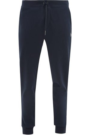 Polo Ralph Lauren Logo-embroidered Jersey Track Pants - Mens - Navy
