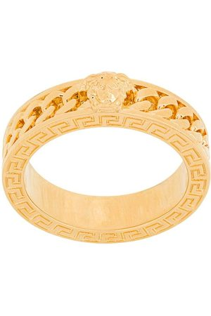 VERSACE Chained medusa ring
