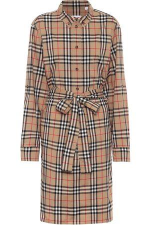 Burberry Casual Dresses - Vintage Check stretch-cotton shirt dress