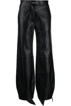 OFF-WHITE High-waist balloon-leg trousers