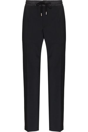 Dolce & Gabbana Piped-trimmed track pants