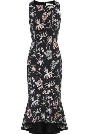 Peter Pilotto Floral cady dress