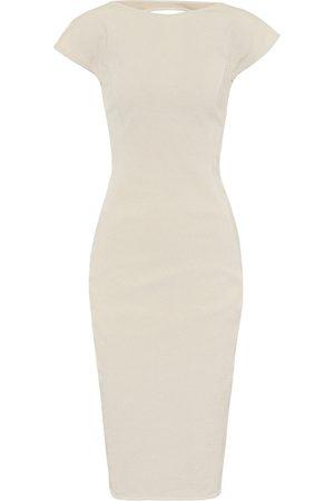 Rick Owens Easy Sarah cotton-blend dress