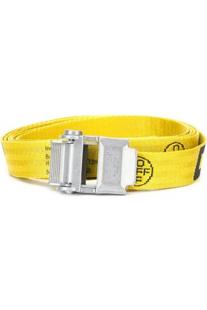 OFF-WHITE Belts - Mini 2.0 Industrial belt silver-tone buckle fastening
