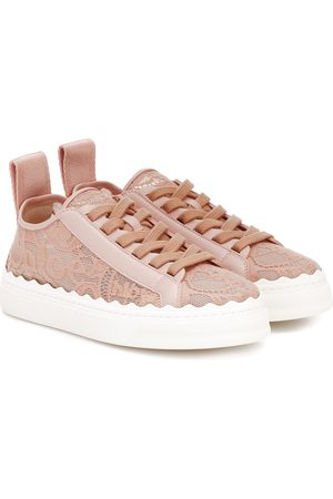 Chloé Exclusive to Mytheresa – Lauren lace sneakers