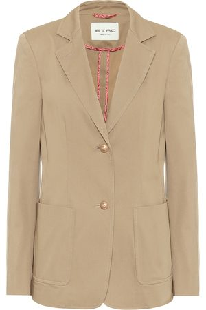 Etro Stretch-cotton twill blazer