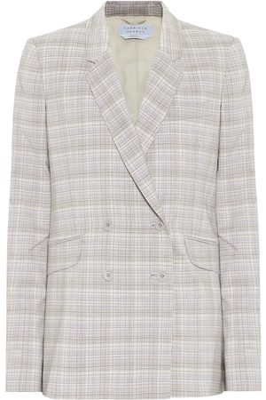 GABRIELA HEARST Helena checked stretch-wool blazer