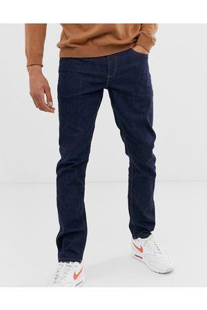 Women Slim - ASOS DESIGN stretch slim jeans in indigo-Blue