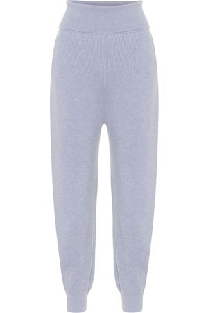Stella McCartney Cashmere and wool trackpants