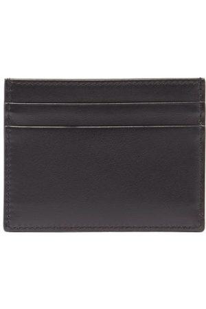Dolce & Gabbana Men Wallets - Logo-print Leather Cardholder - Mens