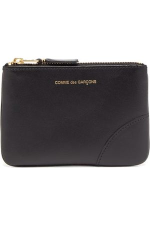 Comme des Garçons Zipped Leather Coin Purse - Mens