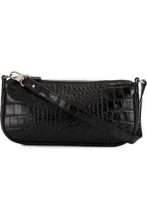 By Far Women Shoulder Bags - Rachel croc-effect shoulder bag