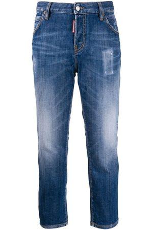 Dsquared2 Women Slim - I Love D2 slim-fit jeans