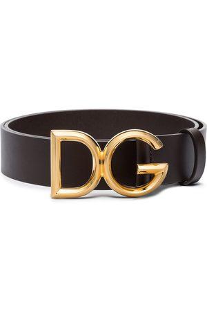 Dolce & Gabbana Men Belts - Logo buckle belt
