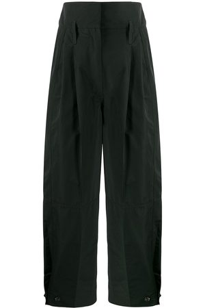 Givenchy High-rise cropped cargo trousers