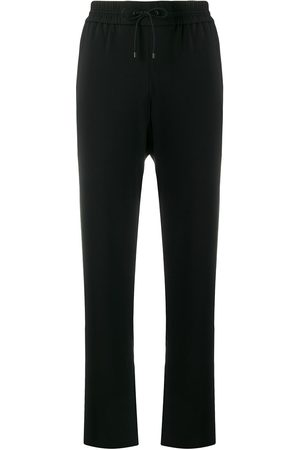 Kenzo Women Joggers - Side floral-print track trousers