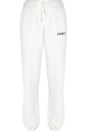 Fiorucci Women Joggers - Angels patch joggers