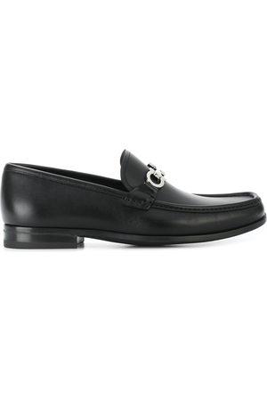 Salvatore Ferragamo Gancini Reversible Bit loafers