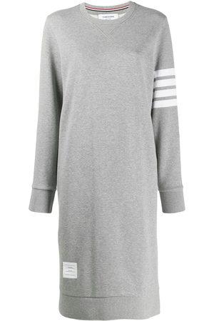 Thom Browne 4-Bar loopback sweatshirt dress