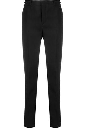 Saint Laurent Women Formal Pants - High-rise tailored trousers