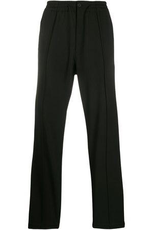 Y-3 Plain straight-leg trousers
