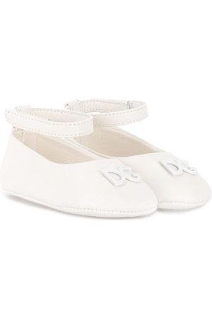 Dolce & Gabbana DG logo ballerina pumps